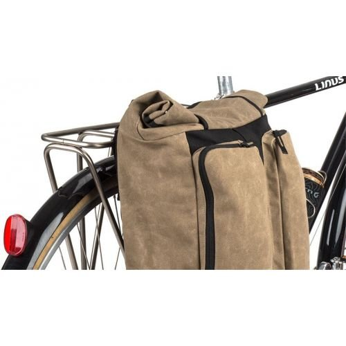 Сумка на багажн./рюкзак Blackburn Wayside Backpack/Pannier водостіи., 19л, з/фікс, чорн./беж., 929г