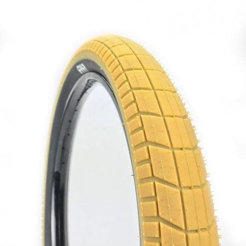Покрышка CULT Dehart 2.35 желтая/черный  бок