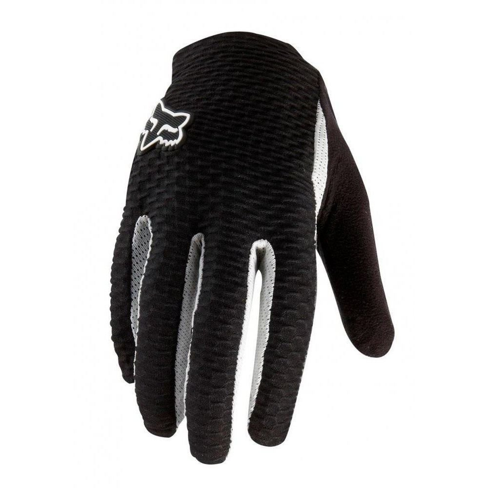 Вело перчатки FOX Attack Glove черно-белые, M (9)
