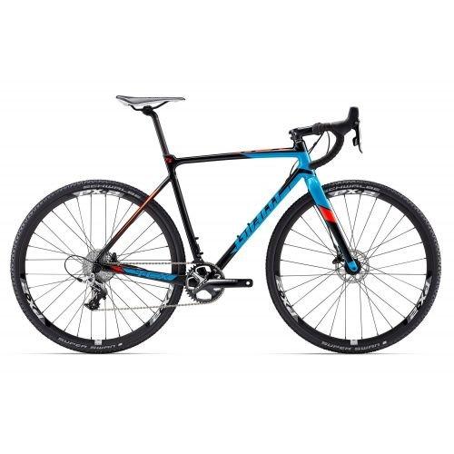 Велосипед Giant TCX SLR 1 черн.синий M/L