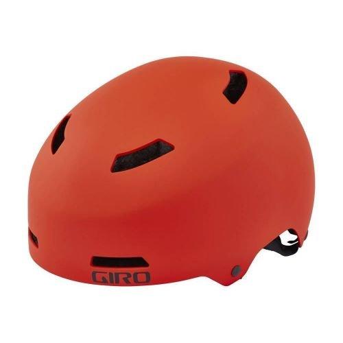 Шлем велосипедный Giro Quarter мат. Glowing красн., M (55-59см)