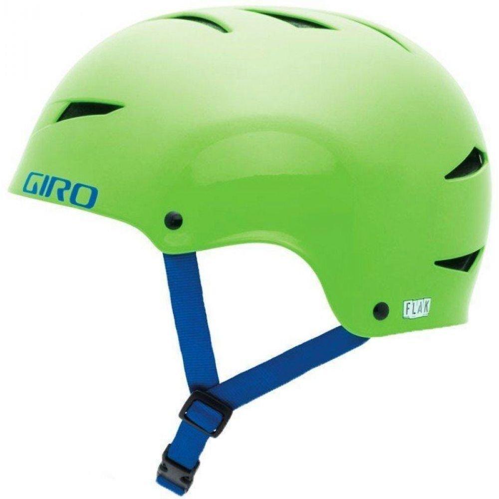 Шлем велосипедный Giro Flak лайм, L (59-62см)