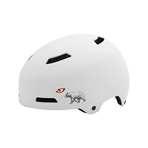 Шлем велосипедный Giro Quarter мат.белый. CA Bear, M (55-59см)
