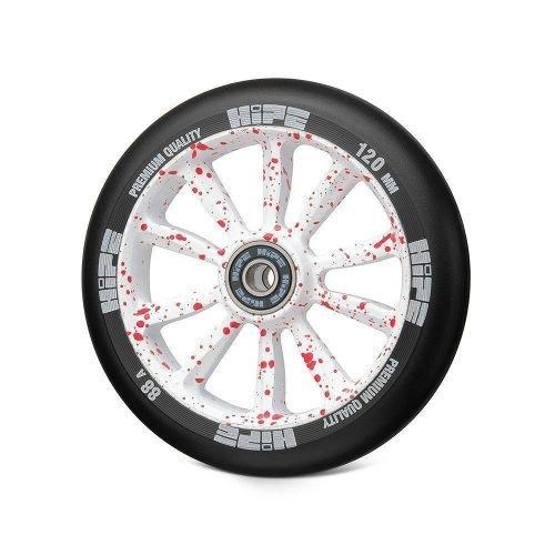 Колесо LMT09L 120мм красный\белый