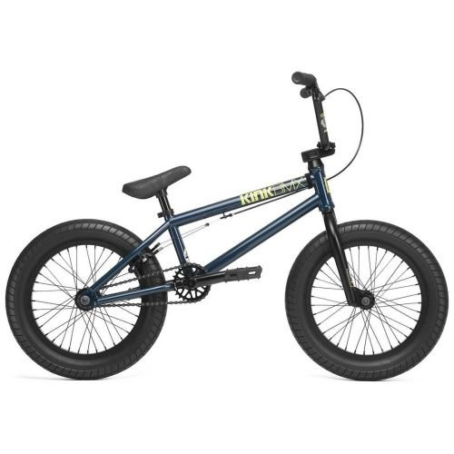 """Велосипед KINK BMX Carve 16"""", 2020 синий"""