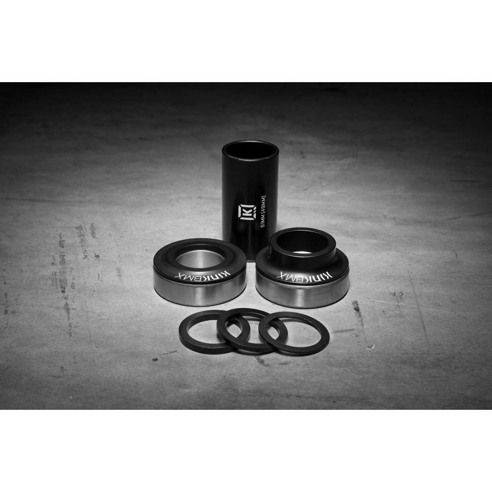 Каретка KINK BMX Mid BB 24 мм матовая черная