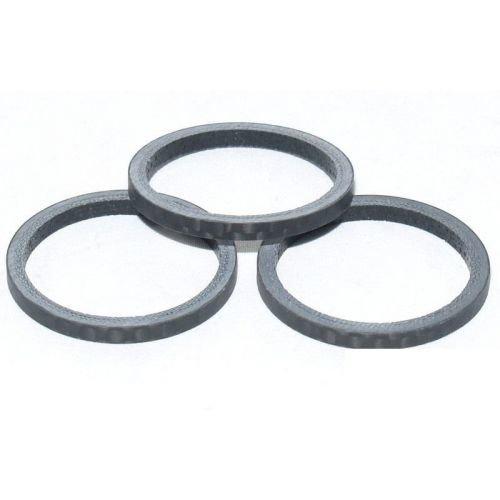 Кольцо Longus Carbon под вынос 28,6/3 черное