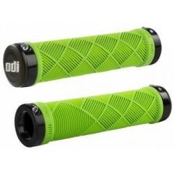 Грипсы ODI Crosstrainer MTB Lock-On зеленые