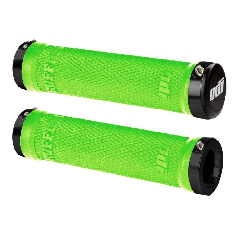Грипсы ODI Ruffian MTB Lock-On зеленые