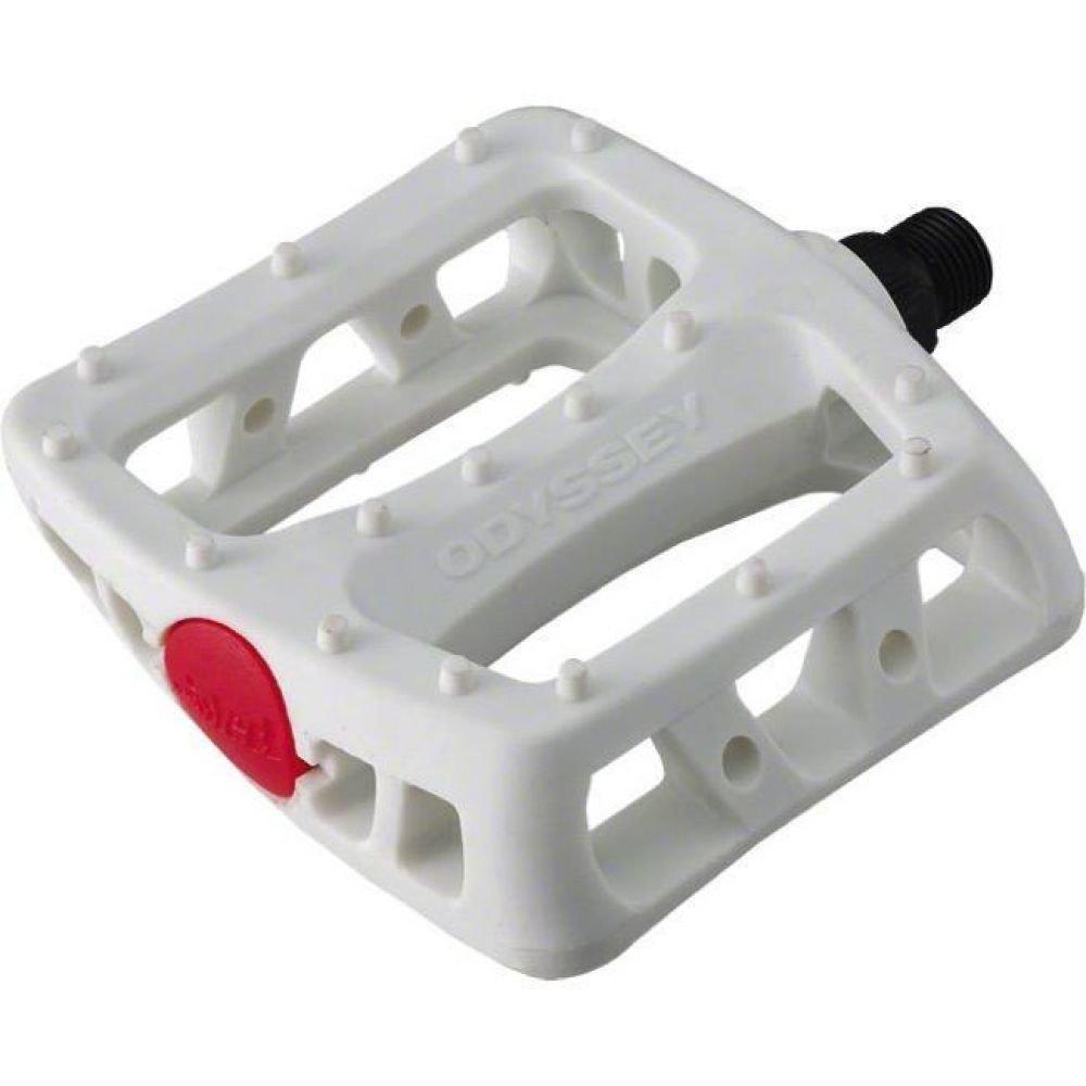 Педали ODYSSEY TWISTED пластик 9/16 белые
