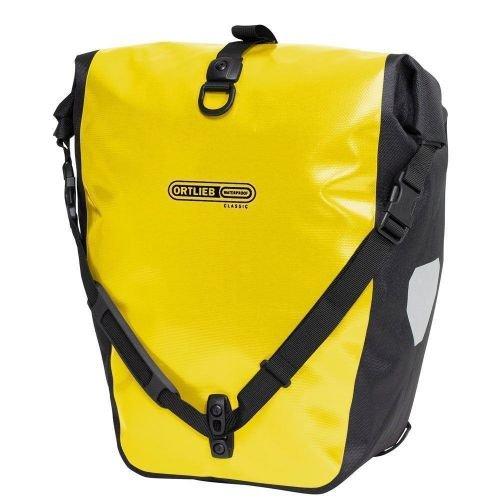 Гермосумка велосипедная ORTLIEB Back-Roller Classic 20 лит. желто-черная