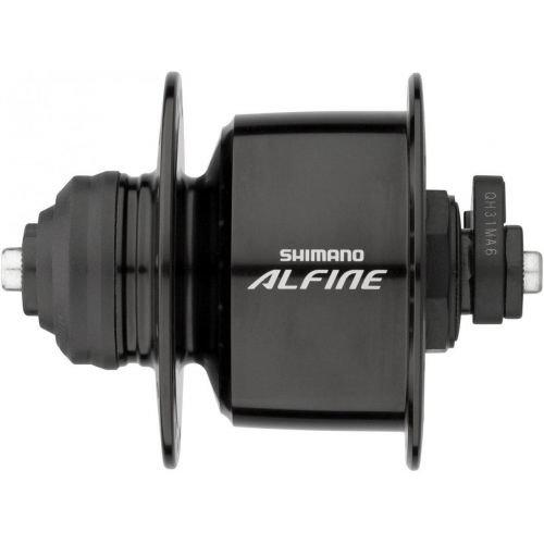 Динамо-втулка DH-S501 ALFINE, 6V/3,0W 32отв, OLD:100мм, QR, Center Lock черн