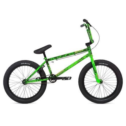 Велосипед Stolen CREATURE TOXIC GREEN SPLATTE, зеленый