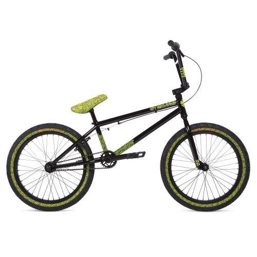 Велосипед Stolen OVERLORD BLACK W/ REFLECTIVE YELLOW