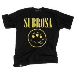 Футболка Subrosa Teen Spirit L черная