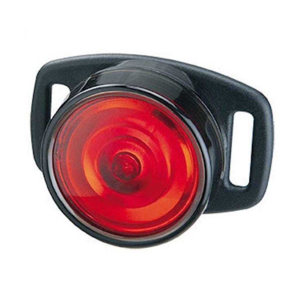 Фара на шлем та сумку Topeak Taillux 0,5W черв.діоди, 3 функц., с/бат., 24г