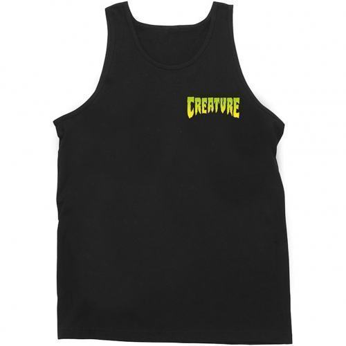 Майка Creature Logo Regular Fit L черная
