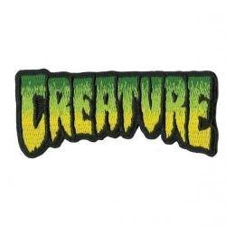 Нашивка Creature Logo Fade черно. зеленая