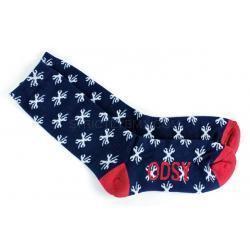 Носки ODYSSEY BOLT высокие синие