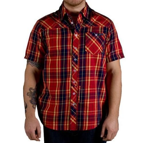 Рубашка Animal Fresh красная L