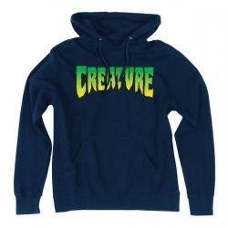 Толстовка Creature Logo Pullover Hooded L синяя