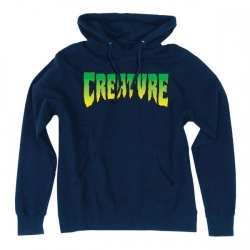 Толстовка Creature Logo Pullover Hooded М синяя