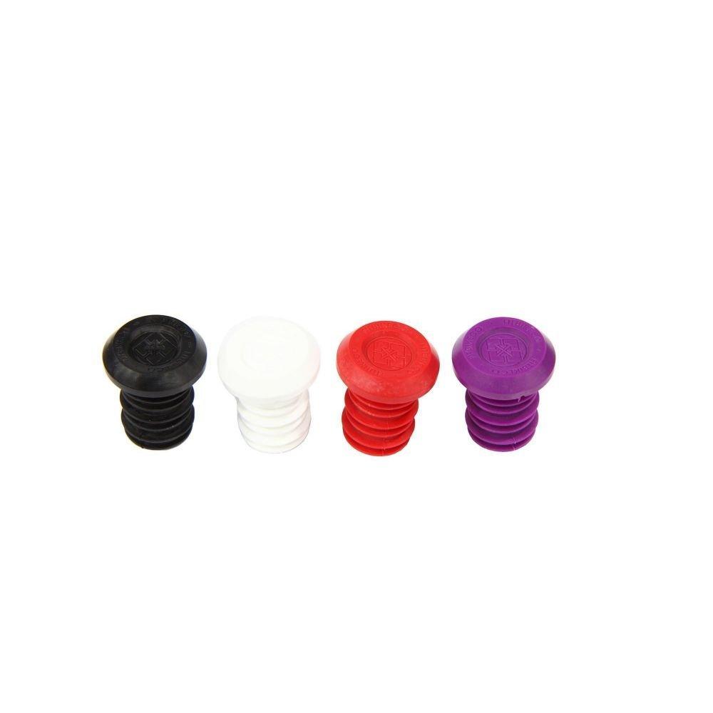 Заглушки руля FIT пластиковые красные
