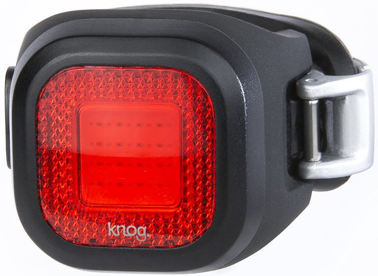 Мигалка задняя Knog Blinder Mini Chippy Rear 11 Lumens черная