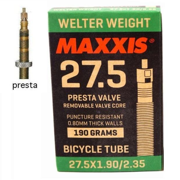 Камера Maxxis Welter Weight 27.5x1.9/2.35 FV