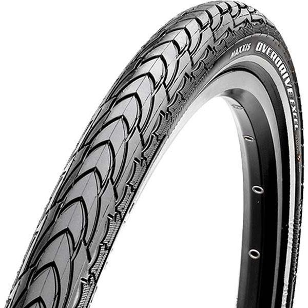 Покрышка Maxxis 700x40c (ETB96137000) Overdrive Excel, SilkShield/Ref 60TPI, 70a/reflect